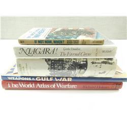 ASSORTED WAR & POLICAL BOOKS