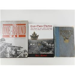 ASSORTED WAR & MILITARY BOOKS