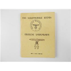 WWII GERMAN UNIFORM INSIGNIA BOOK -REPRINT