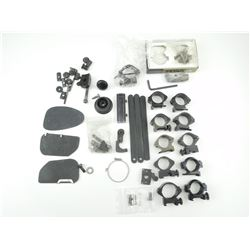 ASSORTED SCOPE RINGS, BASES & PARTS