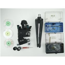 SPOTTING SCOPE STAND & HOLDER & EYE LENSES