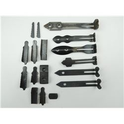 ASSORTED REAR SIGHTS & PARTS