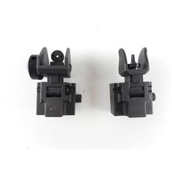 STEEL PICATINNY ADJUSTABLE SIGHTS