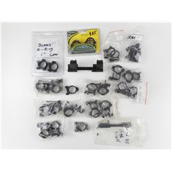 ASSORTED SCOPE RINGS/MOUNTS