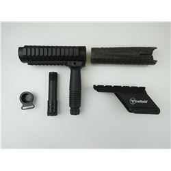 ASSORTED SCOPE & GUN PARTS
