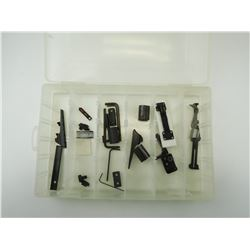 ASSORTED RIFLE SIGHTS