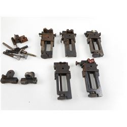 ASSORTED LEE ENFIELD REAR SIGHT PARTS