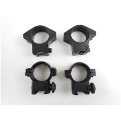 ASSORTED .22 LR CAL RIM FIRE SCOPE RINGS