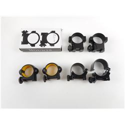 ASSORTED SCOPE RINGS