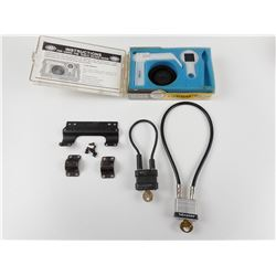 ASSORTED SCOPE MOUNTS & CABLE LOCK