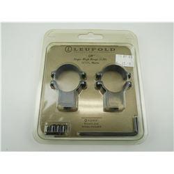 LEUPOLD SCOPE QR RINGS