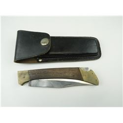 FOLDING KNIFE WITH SHEATH