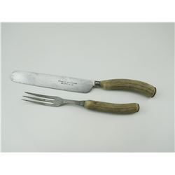 3 PRONG FORK & KNIFE SET BY STACEY BROTHERS