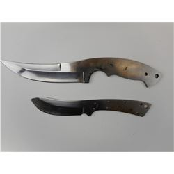 GRIPLESS FIXED BLADE KNIVES