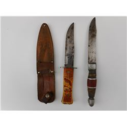 ASSORTED FIXED BLADE KNIVES