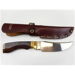 AMERICAN HERITAGE FIXED BLADE KNIFE WITH SHEATH