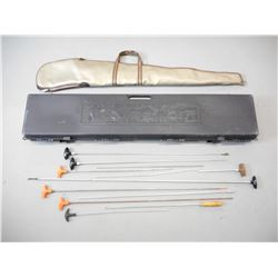 KOLPIN HARD RIFLE CASE & SOFT CASE WITH CLEANING RODS