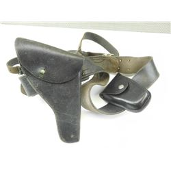 LEATHER HOLSTERS WITH BELT