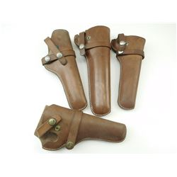 HUNTER BROWN LEATHER HOLSTERS