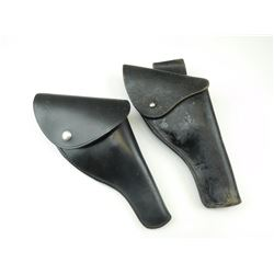 BLACK LEATHER HOLSTERS