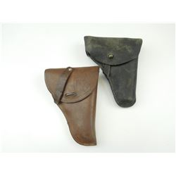 ASSORTED SMALL LEATHER HOLSTERS