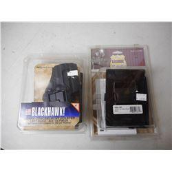 BLACKHAWK HANDGUN HOLSTER & FLIP OPEN POUCH