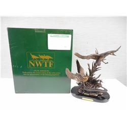 "NATIONAL WILD TURKEY FEDERATION ""AFTER THE SEASON"" SCULPTURE"