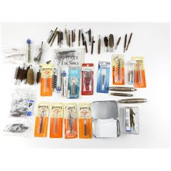 ASSORTED CLEANING BRUSHES AND ACCESSORIES