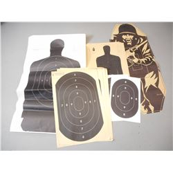 ASSORTED TARGET SHEETS