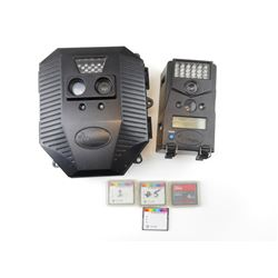 WILDGAME TRAIL CAMERAS WITH MEMORY CARDS