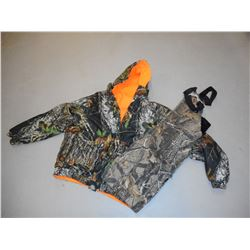 HUNTING CLOTHES: OVERALLS & JACKET