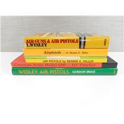 ASSORTED AIR PISTOL BOOKS