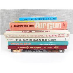 ASSORTED AIRGUN BOOKS