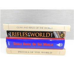 FIREARMS OF THE WORLD BOOKS