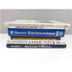 ASSORTED AMMUNITIONS BOOKS
