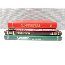 ASSORTED SIXGUN & GUN FIGHTING BOOKS
