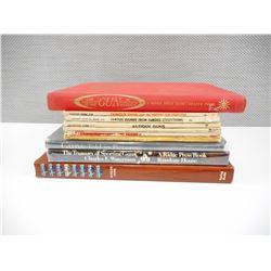 ASSORTED FIREARM BOOKS