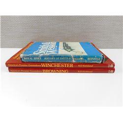 ASSORTED FIREARM SPECIFIC BOOKS
