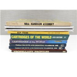 ASSORTED FIREARMS MAGAZINES/BOOKS