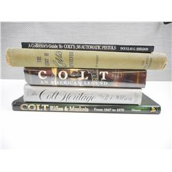 COLLECTION OF COLT BOOKS