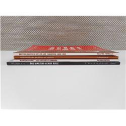 BRITISH SERVICE RIFLES & MARTINI-HENRY BOOKS