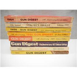 ASSORTED GUN DIGEST MAGAZINES