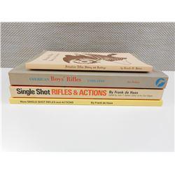 ASSORTED SINGLE SHOT FIREARM BOOKS