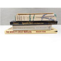 ASSORTED RIFLE & SHOTGUN BOOKS