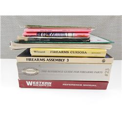 ASSORTED FIREARMS BOOKS & MANUALS
