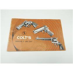 COLT'S HANDGUN AND LONG GUNS FLYER/CATALOG