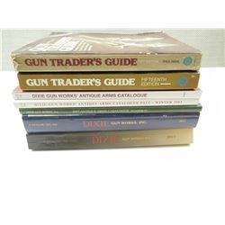 ASSORTED DIXIE GUN WORKS & GUN TRADERS GUIDE BOOKS