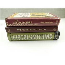 ASSORTED GUNSMITHING & VALUE BOOKS