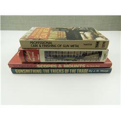 ASSORTED FIREARM CARE & GUNSMITHING BOOKS