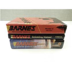 BARNES RELOADING BOOKS